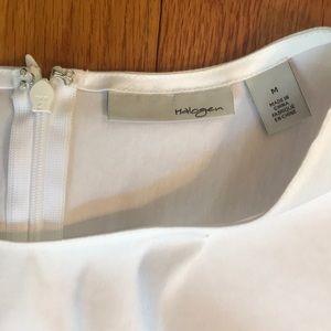 Halogen Tops - NWT Halogen White Sleeveless Twist Detail Top